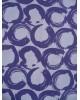 Bavlna/strech,bílá s fialovým vzorem