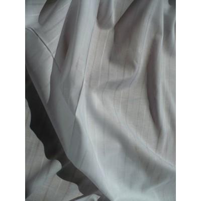 Bavlna plátno - bílá jemný proužek