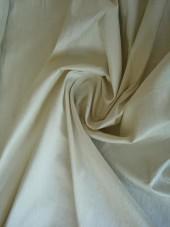 hedvábí - dupion ručně tkaný slonová kost