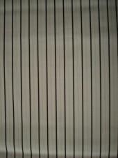 Bavlna -  strech ,černý proužek