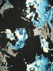 úplet-společenský,tyrkysové listy
